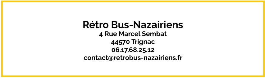 Contact Rétro Bus-Nazairiens